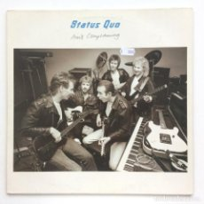 Discos de vinilo: STATUS QUO – AIN'T COMPLAINING EUROPE,1988 VERTIGO. Lote 278564438