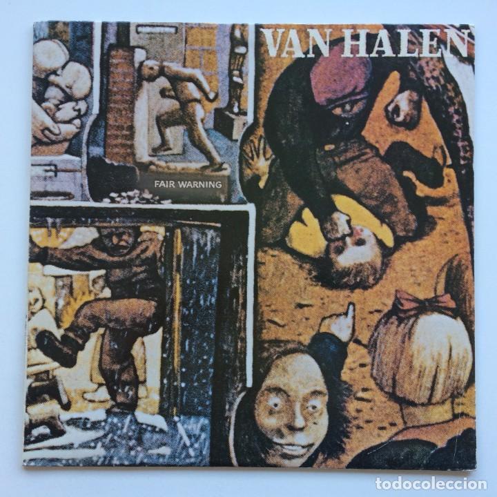 VAN HALEN – FAIR WARNING CANADA1981 WARNER BROS RECORDS (Música - Discos - LP Vinilo - Heavy - Metal)