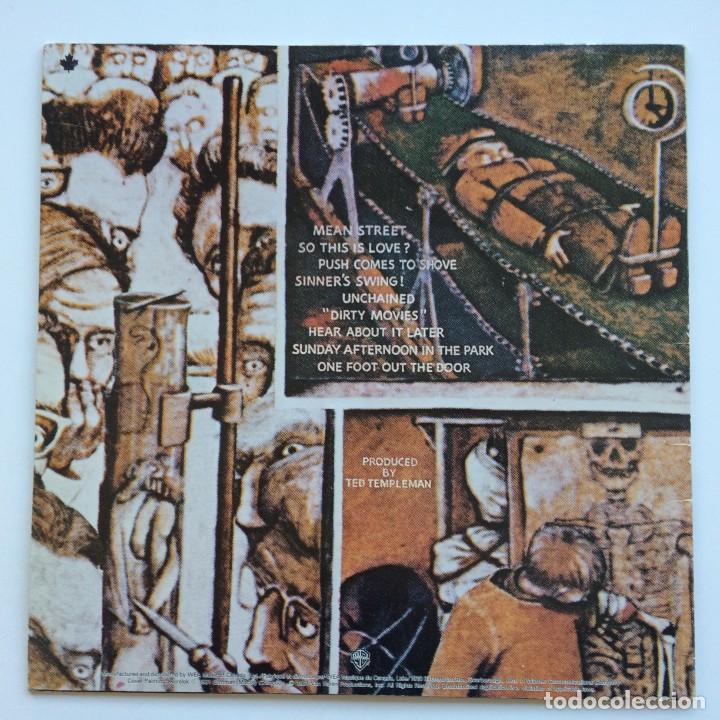 Discos de vinilo: Van Halen – Fair Warning Canada1981 Warner Bros Records - Foto 2 - 278565158