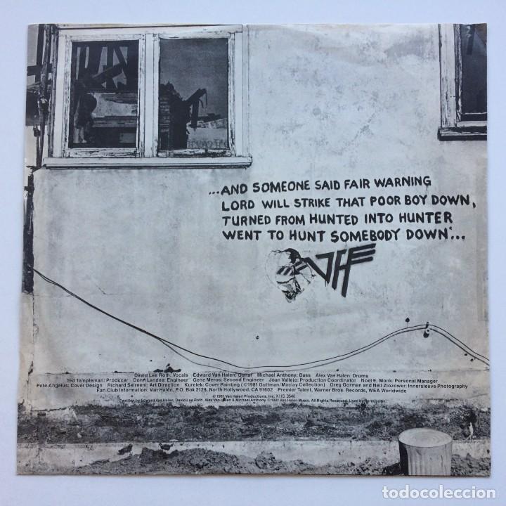 Discos de vinilo: Van Halen – Fair Warning Canada1981 Warner Bros Records - Foto 4 - 278565158