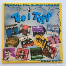 Discos de vinilo: TIO I TOPP 1963-64 (ANIMALS,BEACH BOYS,HERMAN'S HERMITS,HOLLIES,SHADOWS,JAN & DEA,...) 2LPS 1980. Lote 278567368