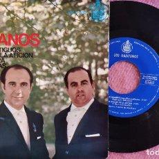 Discos de vinilo: EP LOS GADITANOS - LOS DUROS ANTIGUOS / EN NOMBRE DE LA AFICION +2 - HH 17-332 (EX++/EX++). Lote 278567618