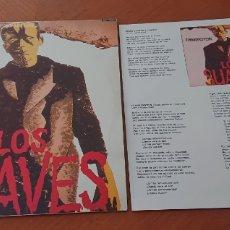 Discos de vinilo: LOS SUAVES FRANKENSTEIN, LP ORIGINAL CON ENCARTE, BUEN ESTADO, VED FOTOS. Lote 278577608