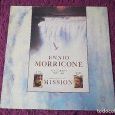 Discos de vinilo: ENNIO MORRICONE – THE MISSION ,VINYL LP 1986 SPAIN T 207908. Lote 278580113