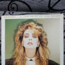 Discos de vinilo: SANDRA - IN THE HEAT OF THE NIGHT. Lote 278581863