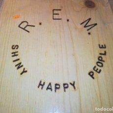 Discos de vinilo: R.E.M.-SHINY HAPPY PEOPLE. Lote 278595198