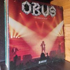 Disques de vinyle: 2 X LP ALBUM , OBUS EN DIRECTO , CHAPA DISCOS 1987. Lote 278599473