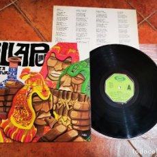 Discos de vinilo: ILLAPU RAZA BRAVA LP VINILO DEL AÑO 1979 ESPAÑA ENCARTE CONTIENE 12 TEMAS CANCION QUECHUA. Lote 278601163