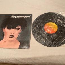 Discos de vinilo: NINA HAGEN BAND - LP ALBUM 1979 VINILO - CBS SPAIN. Lote 278602633