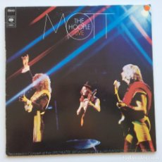 Discos de vinilo: MOTT THE HOOPLE – LIVE HOLANDA,1974 CBS. Lote 278603098