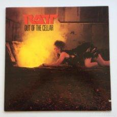 Discos de vinilo: RATT – OUT OF THE CELLAR USA,1984 ATLANTIC. Lote 278605788