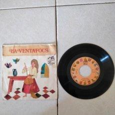 Discos de vinilo: LA VENTAFOCS - PRIMERA PARTE - SPAIN - ZAFIRO - PR. Lote 278611963