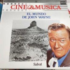 Discos de vinilo: EL MUNDO DE JOHN WAYNE. SERIE CINE & MUSICA 31. LONDON RECORDS – 832 093-1. NUEVO. Lote 278619053