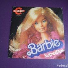 Discos de vinilo: BARBIE SUPERSTAR - PUBLICIDAD CONGOST - SG 1979 - LEVE USO EN PORTADA Y VINILO - INFANTIL JUGUETES. Lote 278620398
