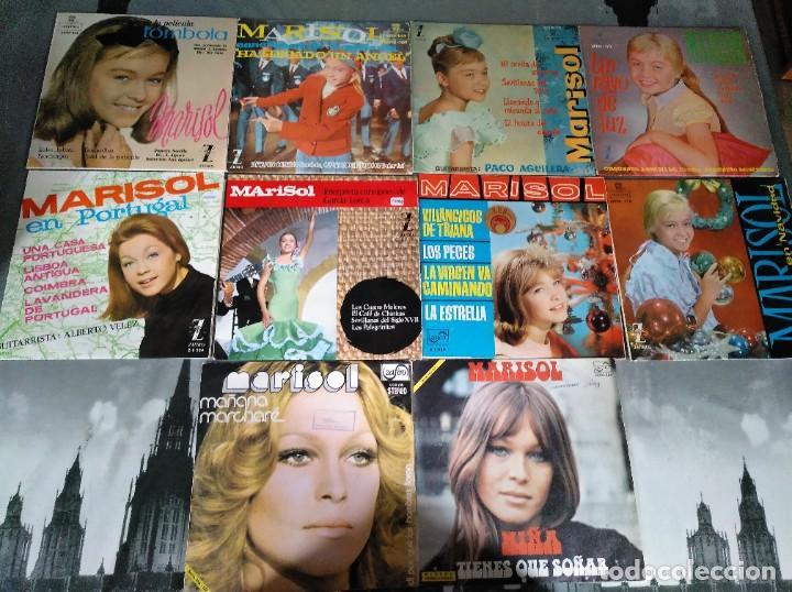 MARISOL - LOTE 8 EP´S Y 2 SINGLES (Música - Discos de Vinilo - EPs - Solistas Españoles de los 50 y 60)
