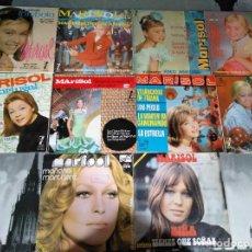 Discos de vinilo: MARISOL - LOTE 8 EP´S Y 2 SINGLES. Lote 278620448