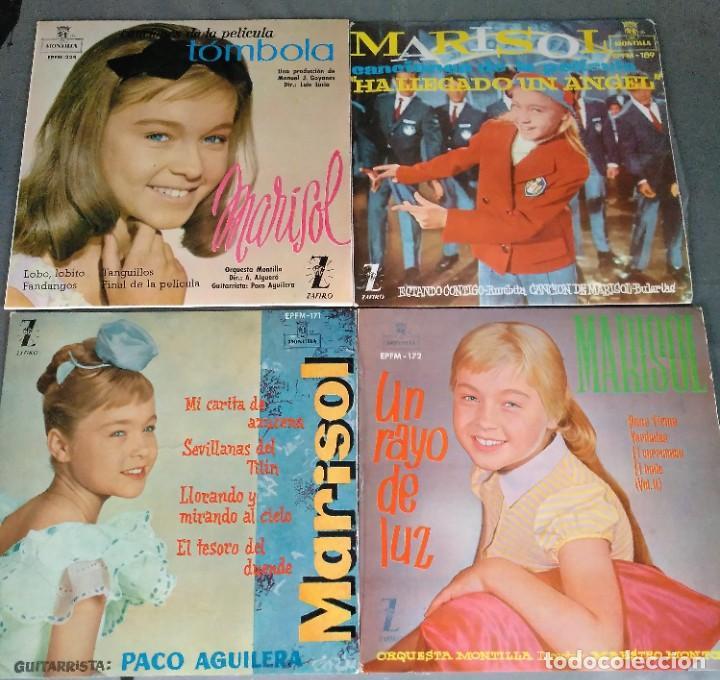 Discos de vinilo: MARISOL - LOTE 8 EP´S Y 2 SINGLES - Foto 2 - 278620448