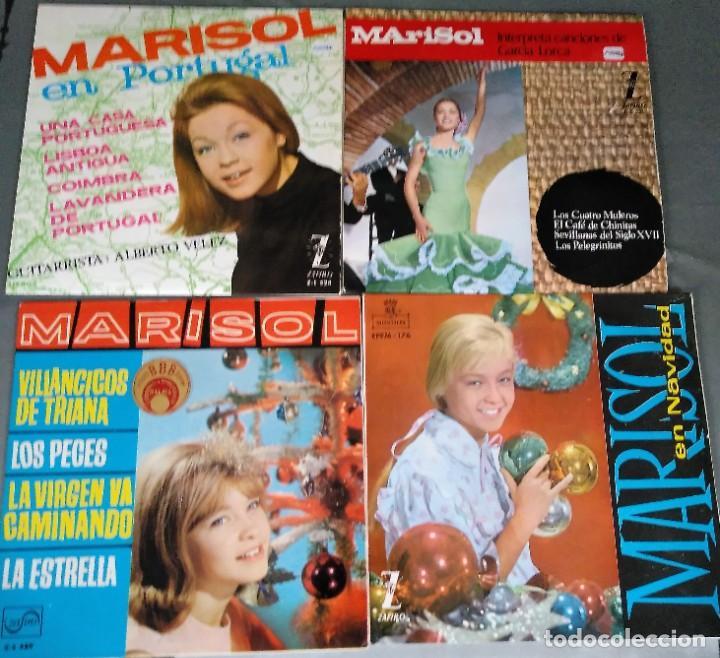 Discos de vinilo: MARISOL - LOTE 8 EP´S Y 2 SINGLES - Foto 3 - 278620448