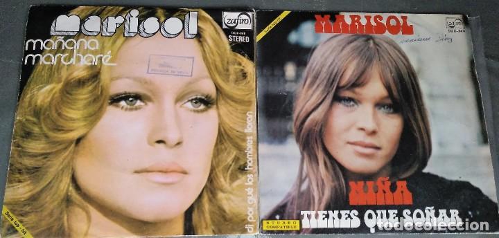 Discos de vinilo: MARISOL - LOTE 8 EP´S Y 2 SINGLES - Foto 4 - 278620448
