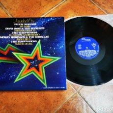 Discos de vinilo: NAVIDAD MOTOWN MICHAEL JACKSON JACKSON 5 DIANA ROSS LP VINILO 1974 ESPAÑA GATEFOLD 10 TEMAS. Lote 278621703