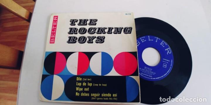 THE ROCKING BOYS-EP DILE +3 (Música - Discos de Vinilo - EPs - Grupos Españoles 50 y 60)