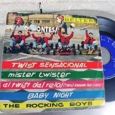 Discos de vinilo: THE ROCKING BOYS-EP TWIST SENSACIONAL+ 3. Lote 278640328