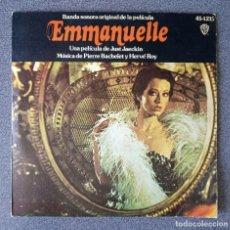 Discos de vinilo: VINILO EP EMMANUELLE. Lote 278643583