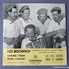 Discos de vinilo: VINILO EP LOS BOCHEROS CAMINO VERDE. Lote 278664483