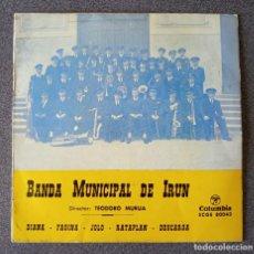 Discos de vinilo: VINILO EP BANDA MUNICIPAL DE IRUN. Lote 278668108