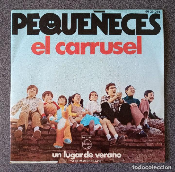 VINILO EP PEQUEÑECES EL CARRUSEL (Música - Discos de Vinilo - EPs - Música Infantil)