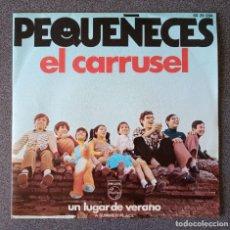 Discos de vinilo: VINILO EP PEQUEÑECES EL CARRUSEL. Lote 278668148