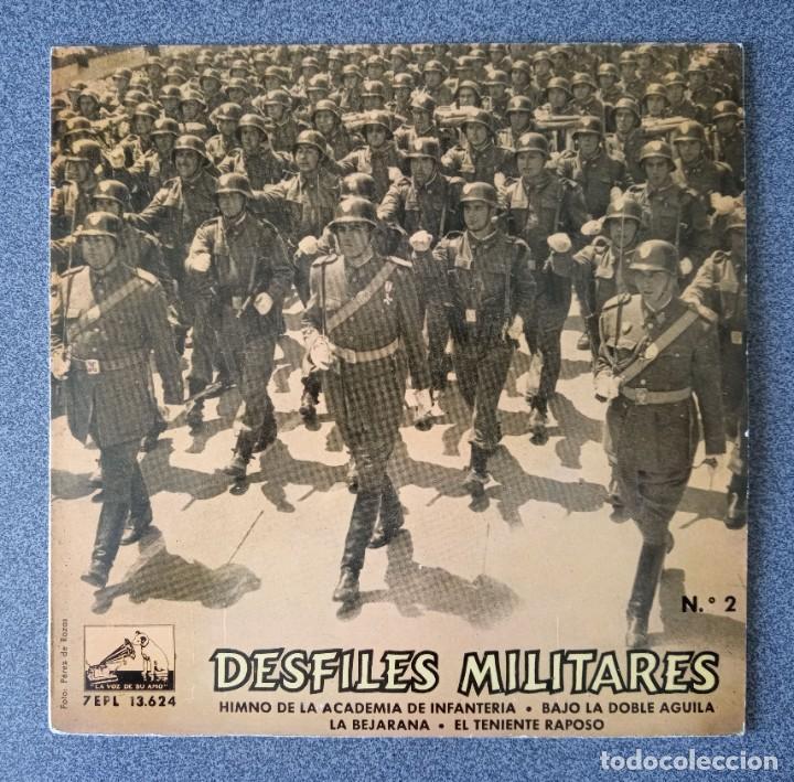 VINILO EP DESFILES MILITARES BANDA DE LA POLICIA ARMADA Y DE TRÁFICO DE BARCELONA (Música - Discos de Vinilo - EPs - Otros estilos)