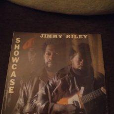 Discos de vinilo: JIMMY RILEY. SHOWCASE. EDICIÓN BURNING SOUNDS UK MUY RARA. Lote 278669068