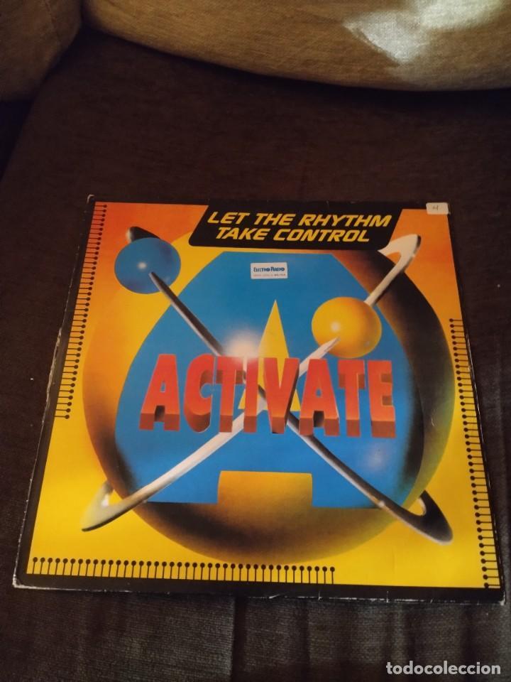ACTIVATE. LET THE RHYTHM TAKE CONTROL. EDICIÓN MOREDISCO COTIZADA. (Música - Discos de Vinilo - Maxi Singles - Disco y Dance)