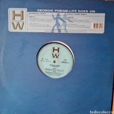 Discos de vinilo: MAXI - GEORGIE PORGIE - LIFE GOES ON - 2000. Lote 278674583