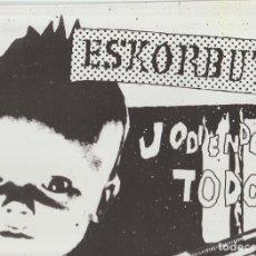 Discos de vinilo: ESKORBUTO – JODIENDOLO TODO SELLO: GUNS OF BRIXTON RECORDS – GBR055LP. Lote 278685738