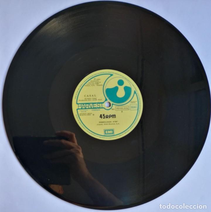 Discos de vinilo: Casal, Embrujada, Harvest 10C 052-021.914z - Foto 3 - 278686918