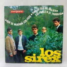 Discos de vinilo: EP LOS SIREX - QUE SE MUERAN LOS FEOS - ESPAÑA - AÑO 1965. Lote 278686973