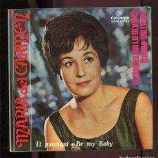 Discos de vinilo: MARIA DEL CARMEN. ET POURTANT. BE MY BABY, ETC. COLUMBIA 1964. EP. Lote 278687118