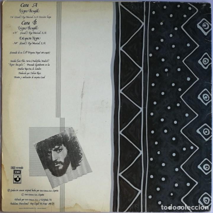 Discos de vinilo: Casal, Tigre Bengali, Harvest 052 1219566, 052-1219566 - Foto 2 - 278687203