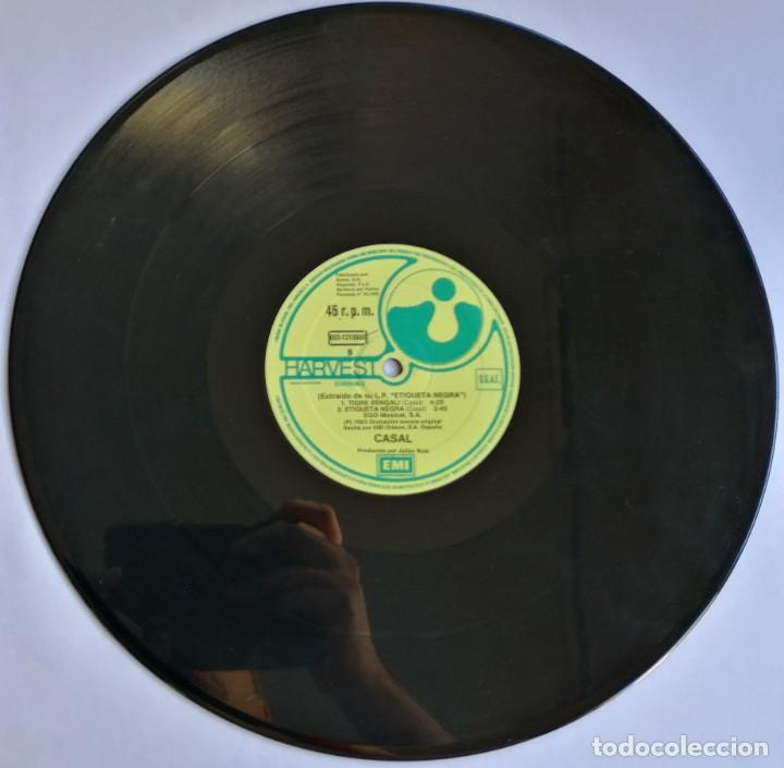 Discos de vinilo: Casal, Tigre Bengali, Harvest 052 1219566, 052-1219566 - Foto 3 - 278687203