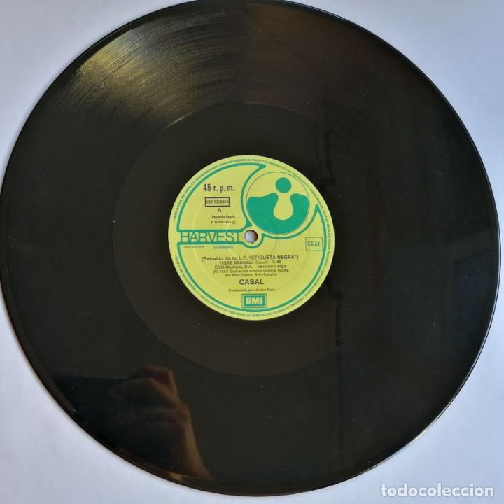 Discos de vinilo: Casal, Tigre Bengali, Harvest 052 1219566, 052-1219566 - Foto 4 - 278687203