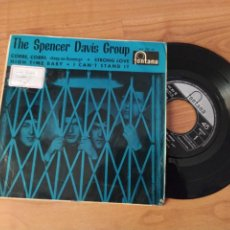 Discos de vinilo: SPENCER DAVIS GROUP - EP - CORRE CORRE/STRONG LOVE/HIGH TIME BABY/I CAN'T SATND IT (FONTANA 1966). Lote 278687258