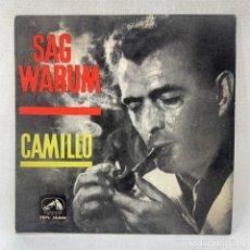 Discos de vinilo: EP CAMILLO - SAG WARUM - ESPAÑA - AÑO 1962. Lote 278688313