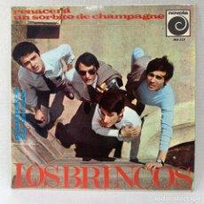 Discos de vinilo: EP LOS BRINCOS - RENACERÁ - ESPAÑA - AÑO 1966. Lote 278688598