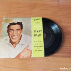 Discos de vinilo: SAMMY DAVIS : CHANGE PARTNERS + 3 EP SPA. Lote 278689368