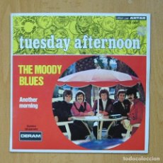 Discos de vinilo: THE MOODY BLUES - TUESDAY AFTERNOON - SINGLE. Lote 278691588