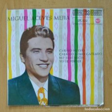 Discos de vinilo: MIGUEL ACEVES MEJIA - CARIÑO NUEVO + 3 - EP. Lote 278691673