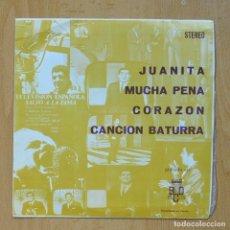 Discos de vinilo: VARIOS - JUANITA + 3 - EP. Lote 278691683