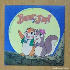 Discos de vinilo: VARIOS - BANNER Y FLAPI - SINGLE. Lote 278691728